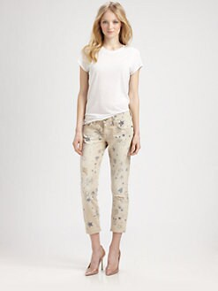 Current/Elliott - The Stiletto Distressed Jeans