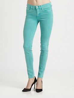 Hudson - Mid-Rise Super Skinny Jeans