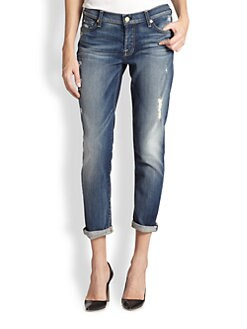 7 For All Mankind - Josefina Cropped Boyfriend Jeans