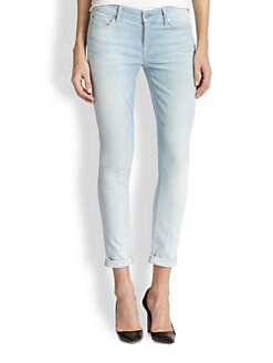 7 For All Mankind - The Skinny Crop & Roll Jeans