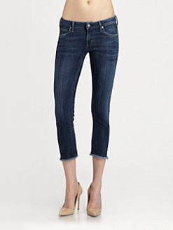 Citizens of Humanity - Avedon Ultra Skinny Cut-Off Jeans