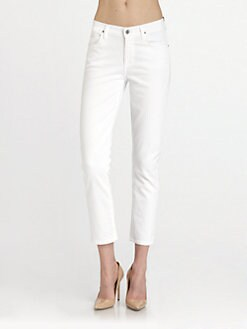 Citizens of Humanity - Carlton Retro High-Rise Jeans/White