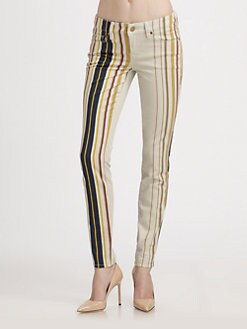 Genetic Denim - The Shya Striped Skinny Jeans