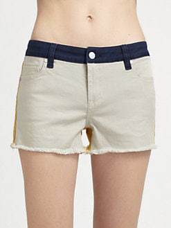 Genetic Denim - The Ivy Denim Colorblock Shorts