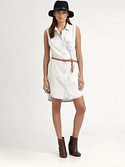 rag & bone/JEAN - Norfolk Denim Shirtdress