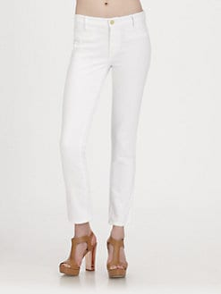 MiH Jeans - Paris Cropped Slim-Leg Pants