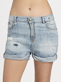 R13 - Slouch Cut-Off Shorts