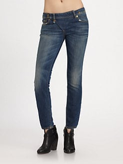 R13 - Zip Skinny Jeans