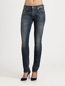 R13 - Skate Skinny Jeans