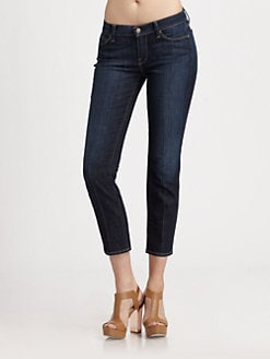 7 For All Mankind - Slim Straight-Leg Jeans