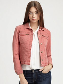 7 For All Mankind - Zip- Pocket Jacket