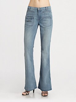 7 For All Mankind - Georgia Flared Jeans