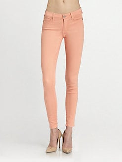 7 For All Mankind - The Skinny Jeans/Apricot