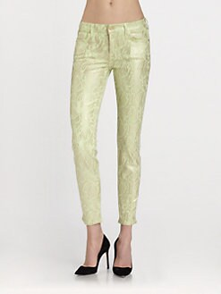 7 For All Mankind - The Skinny Jeans/Celery-Almond