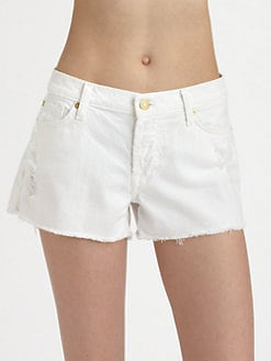 7 For All Mankind - Relaxed Cut-Off Shorts
