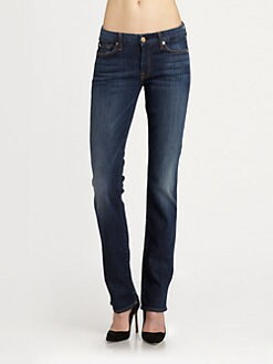7 For All Mankind - Kimmie Straight-Leg Jeans/Spring Night