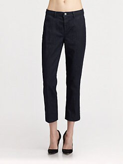 J Brand - Clean Cropped Trouser Jeans
