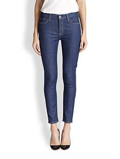 7 For All Mankind - High-Waisted Skinny Ankle Jeans