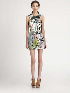 Mary Katrantzou for Current/Elliott - The Fortune Teller Dress