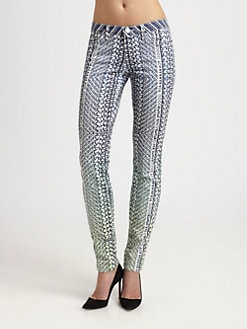 Mary Katrantzou for Current/Elliott - The Ankle Skinny Jeans