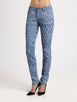 Mary Katrantzou for Current/Elliott - The Skinny Jeans