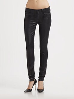 7 For All Mankind - The Skinny Lacquered Jeans