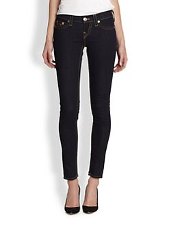 True Religion - Casey Low-Rise Super Skinny Jeans