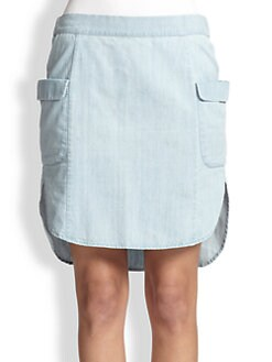 MiH Jeans - Chambray Skirt