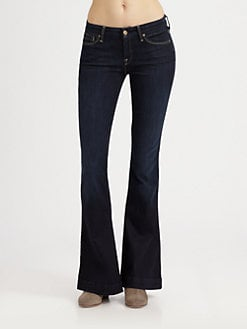 7 For All Mankind - Jiselle Phenomenal Flare-Leg Jeans