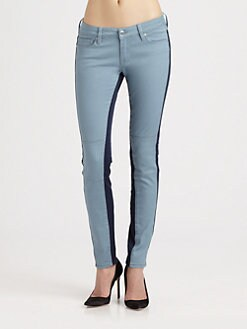 Genetic Denim - The Hyde Colorblock Skinny Jeans