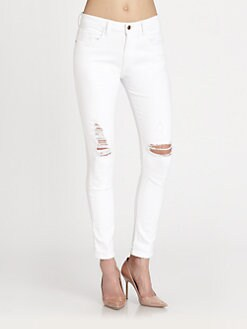 Joe's - Slouchy Highwater Destroyed Jeans