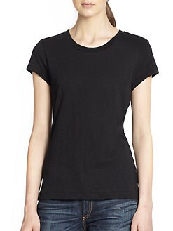 rag & bone/JEAN - The Basic Brando T-Shirt/Black