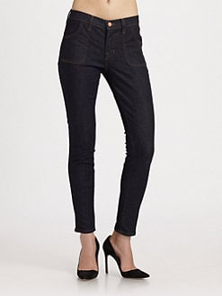 J Brand - Retro Zip Skinny Jeans