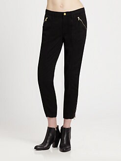 7 For All Mankind - Cropped Straight-Leg Pants