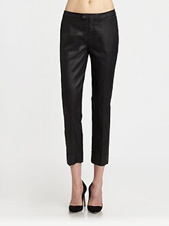 7 For All Mankind - Coated Slim Chino Pants