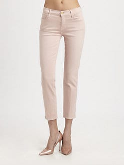 7 For All Mankind - Slim Straight-Leg Ankle Jeans