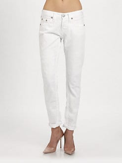 True Religion - Brianna Slim Boyfriend Jeans