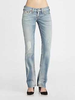 True Religion - Johnny Straight-Leg Jeans