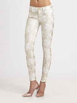 7 For All Mankind - The Skinny Foil Jeans