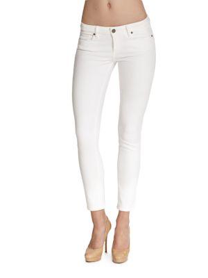 Skyline Cropped Peg Jeans