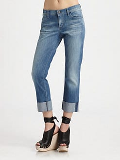 Citizens of Humanity - Dani Cropped Straight-Leg Jeans