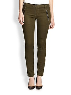 Joe's - Oblique Zip-Pocket Skinny Jeans