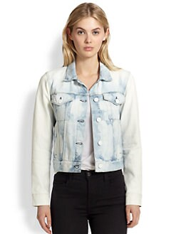 3x1 - Acid-Wash Denim Jacket