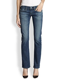 AG Adriano Goldschmied - Relaxed Straight-Leg Jeans