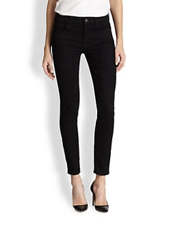 7 For All Mankind - Slim Illusion High-Waisted Skinny Ankle Jeans