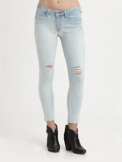 Genetic Denim - The Brooke Distressed Cigarette Jeans