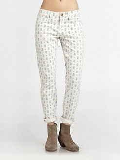 Current/Elliott - The Roller Printed Jeans