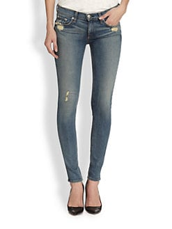 rag & bone/JEAN - Destroyed Skinny Jeans
