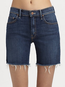 MOTHER - Dropout Cut-Off City Shorts