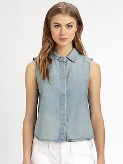 rag & bone/JEAN - Tent Chambray Tank